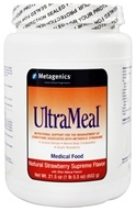 Metagenics - UltraMeal Medical Food Strawberry Supreme - 21.5 oz. by Metagenics