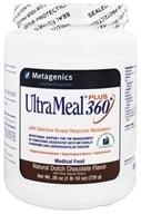 Metagenics - UltraMeal Plus 360 Medical Food Dutch Chocolate - 26 oz., from category: Professional Supplements