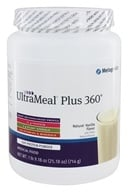 Metagenics - UltraMeal Plus 360 Medical Food Natural Vanilla Flavor - 25.5 oz., from category: Professional Supplements