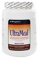 Metagenics - UltraMeal Plus Medical Food Natural Dutch Chocolate - 24 oz. With Beta-Sitosterol And other Plant Sterols (755571916044)