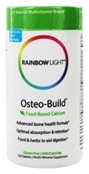 Image of Rainbow Light - Osteo-Build with Vitamin D + K2 - 120 Tablets