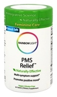 Image of Rainbow Light - PMS Relief With Corydalis & California Poppy - 30 Tablets