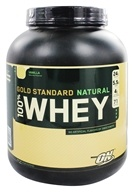 Image of Optimum Nutrition - 100% Whey Gold Standard Natural Protein Vanilla - 5 lbs.