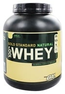 Optimum Nutrition - 100% Whey Gold Standard Natural Protein Vanilla - 5 lbs. (748927027273)
