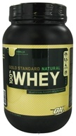 Image of Optimum Nutrition - 100% Whey Gold Standard Natural Protein Vanilla - 2 lbs.