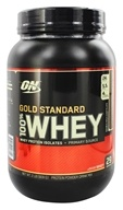 Optimum Nutrition - 100% Whey Gold Standard Protein Double Rich Chocolate - 2 lbs., from category: Sports Nutrition
