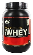 Image of Optimum Nutrition - 100% Whey Gold Standard Protein Delicious Strawberry - 2 lbs.