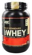 Image of Optimum Nutrition - 100% Whey Gold Standard Protein Vanilla Ice Cream - 2 lbs.