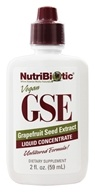 Image of Nutribiotic - GSE - Grapefruit Seed Extract Liquid Concentrate - 2 oz.