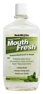 Image of Nutribiotic - Mouth Fresh Natural Mouthwash & Gargle Refreshing Peppermint Flavor - 16 oz.
