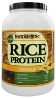 Nutribiotic - Vegan Rice Protein Vanilla - 3 lbs.