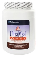 Metagenics - UltraMeal Whey Natural Dutch Chocolate - 22 oz., from category: Professional Supplements