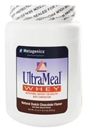Metagenics - UltraMeal Whey Natural Dutch Chocolate - 22 oz. by Metagenics