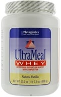 Metagenics - UltraMeal Whey Natural Vanilla - 23.2 oz. - $41.95