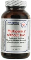 Metagenics - Multigenics without Iron - 90 Tablets (755571024107)