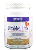 Metagenics - UltraMeal Plus Medical Food Natural Mocha - 23 oz. (755571916037)