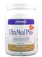Metagenics - UltraMeal Plus Medical Food Natural Mocha - 23 oz. - $44.95