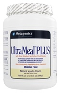 Metagenics - UltraMeal Plus Medical Food Natural Vanilla - 23 oz., from category: Professional Supplements