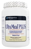 Metagenics - UltraMeal Plus Medical Food Natural Vanilla - 23 oz.