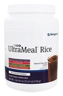 Image of Metagenics - UltraMeal RICE Natural Chocolate - 28 oz.