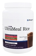 Metagenics - UltraMeal RICE Natural Chocolate - 28 oz. by Metagenics