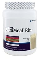Metagenics - UltraMeal RICE Natural Vanilla - 26 oz., from category: Professional Supplements