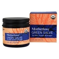 Motherlove - Green Salve for Bites, Bumps & Bruises - 1 fl. oz.