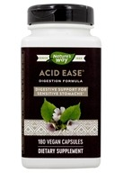 Enzymatic Therapy - Acid-Ease - 180 Vegetable Capsule(s)