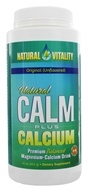 Natural Vitality - Natural Calm Plus Calcium Unflavored - 16 oz.