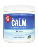 Natural Vitality - Natural Calm Plus Calcium - 8 oz.