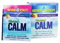 Natural Vitality - Natural Calm Anti-Stress Drink Raspberry Lemon Flavor - 30 Packet(s)