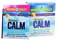 Natural Vitality - Natural Calm Anti-Stress Drink Raspberry Lemon Flavor - 30 Packet(s), from category: Nutritional Supplements