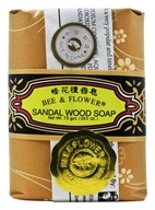 Bee & Flower Soap - Bar Soap Sandalwood - 2.7 oz. - $0.97