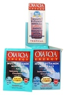 Ola Loa - Energy Super Multi-Vitamin Effervescent Tropical - 30 x 7g Packets - $25.61