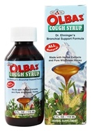 Olbas - Cough Syrup Dr. Ehninger's Bronchial Support Formula - 4 oz. (715486504200)