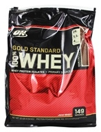 Optimum Nutrition - 100% Whey Gold Standard Protein Double Rich Chocolate - 10 lbs., from category: Sports Nutrition