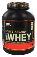 Image of Optimum Nutrition - 100% Whey Gold Standard Protein Double Rich Chocolate - 5 lbs.