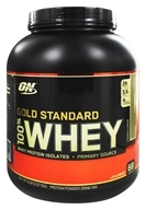 Optimum Nutrition - 100% Whey Gold Standard Protein Cookies & Cream - 5 lbs. - $53.99