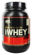 Optimum Nutrition - 100% Whey Gold Standard Protein Cookies & Cream - 2 lbs. - $27.99