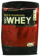 Image of Optimum Nutrition - 100% Whey Gold Standard Protein Delicious Strawberry - 10 lbs. CLEARANCED PRICED