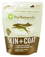 Pet Naturals of Vermont - Skin & Coat Support for Dogs Soft Chews - 45 Chewables by Pet Naturals of Vermont