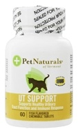Image of Pet Naturals of Vermont - Urinary Tract Support for Cats Fish Flavor - 60 Chewable Tablets