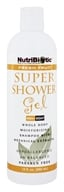 Image of Nutribiotic - Super Shower Gel Non-Soap Shampoo With GSE Fresh Fruit Scent - 12 oz.