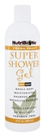 Nutribiotic - Super Shower Gel Non-Soap Shampoo With GSE Fresh Fruit Scent - 12 oz.
