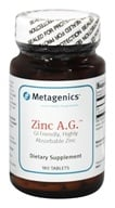 Metagenics - Zinc A.G. - 180 Tablets by Metagenics