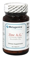 Metagenics - Zinc A.G. - 180 Tablets, from category: Professional Supplements