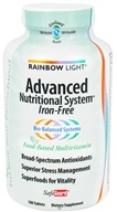 Rainbow Light - Advanced Nutritional System SafeGuard Iron-Free Multivitamin - 180 Tablets