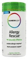 Rainbow Light - Allergy Rescue - 60 Tablets - $14.87