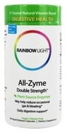 Rainbow Light - All-Zyme Double Strength - 180 Vegetarian Capsules by Rainbow Light