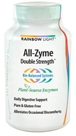 Rainbow Light - All-Zyme Double Strength - 90 Vegetarian Capsules (021888350117)